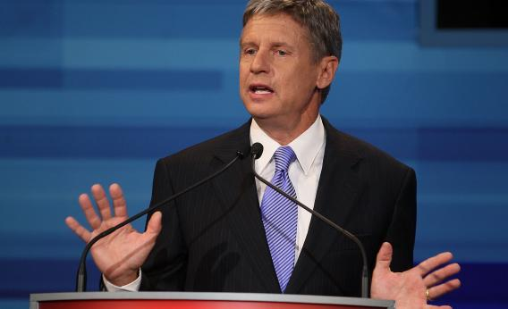 wasted vote gary johnson